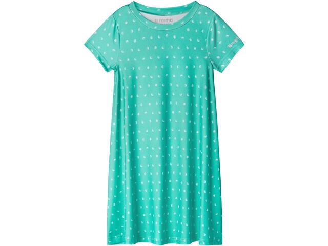 Reima Tuulia Dress Girls reef green